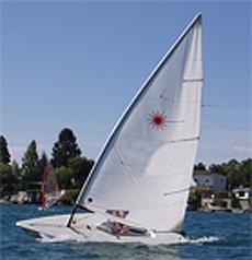 laser-segelboot